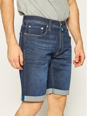 Pierre Cardin Pierre Cardin Szorty jeansowe 3452/8882 Granatowy Regular Fit