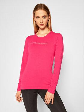 Emporio Armani Underwear Emporio Armani Underwear Bluzka 163229 0A263 20973 Różowy Regular Fit