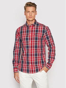 Wrangler Wrangler Camicia 1 Pkt W5A14MXCJ Rosso Regular Fit