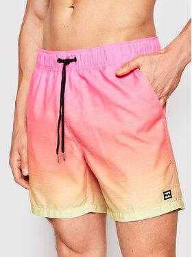 Billabong Billabong Pantaloni scurți pentru înot All Day Faded S1LB09BIP0 Roz Layback Fit