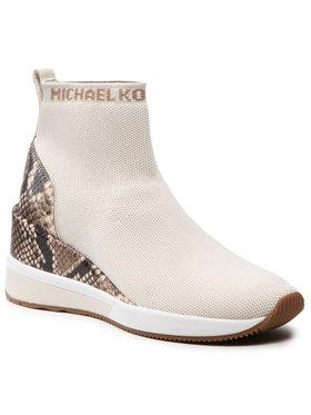 MICHAEL Michael Kors MICHAEL Michael Kors Botki Skyler Bootie 43S1SKFE6D Biały