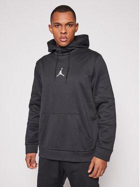 Nike Nike Bluză Jordan Air Therma CK6789 Negru Standard Fit
