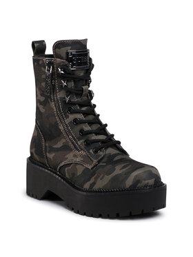 Guess Guess Outdoorová obuv Tayte FL7TAE FAP10 Zelená
