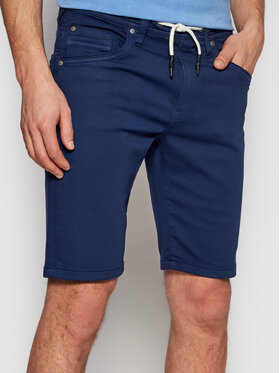 Pepe Jeans Pepe Jeans Pantalon scurți din material Jagger PM800720 Bleumarin Regular Fit