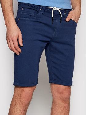 Pepe Jeans Pepe Jeans Шорти от плат Jagger PM800720 Тъмносин Regular Fit