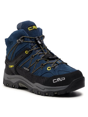 CMP CMP Παπούτσια πεζοπορίας Kids Rigel Mid Trekking Shoe Wp 3Q12944 Σκούρο μπλε