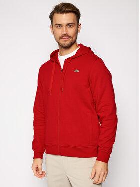 Lacoste Lacoste Μπλούζα SH1551 Κόκκινο Regular Fit