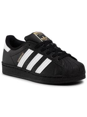 adidas adidas Обувки Superstar C EF5394 Черен