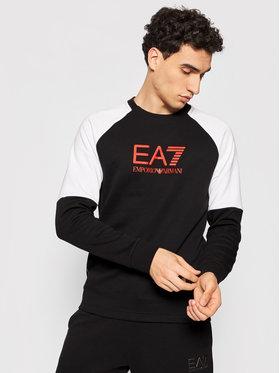EA7 Emporio Armani EA7 Emporio Armani Суитшърт 6KPM41 PJANZ 1200 Черен Regular Fit