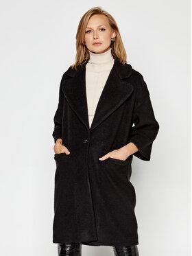 MAX&Co. MAX&Co. Kabát pro přechodné období Curva 79049620 Černá Regular Fit