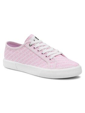 Calvin Klein Jeans Calvin Klein Jeans Tenisky Vulcanized Sneaker Laceup Aop Co YW0YW00155 Ružová