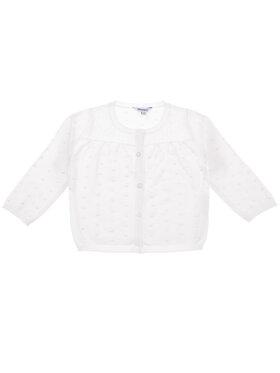 Primigi Primigi Kardigan Flower Fun 43146501 Biały Regular Fit