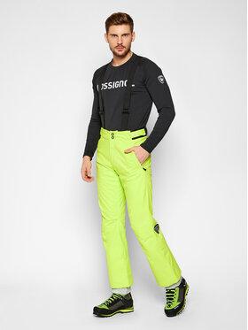 Rossignol Rossignol Lyžařské kalhoty RLIMP03 Žlutá Regular Fit