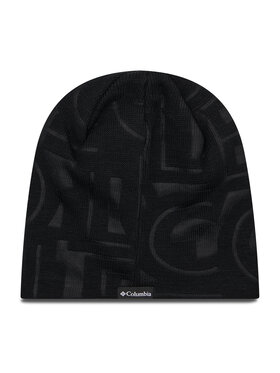 Columbia Columbia Шапка City Trek™ Debossed Beanie 1917281 Черен