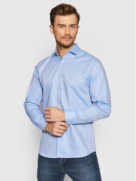 Selected Homme Selected Homme Chemise New Mark 16058640 Bleu Slim Fit