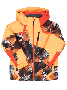 Spyder Spyder Veste de ski Leader 195080 Orange Regular Fit