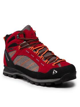 Bergson Bergson Παπούτσια πεζοπορίας Kadam Mid Stx Κόκκινο