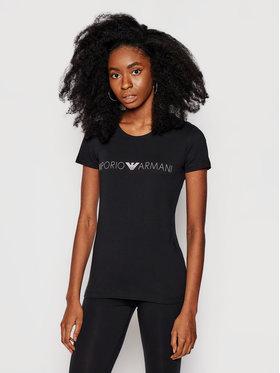 Emporio Armani Underwear Emporio Armani Underwear Marškinėliai 163139 1P227 00020 Juoda Regular Fit