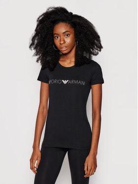 Emporio Armani Underwear Emporio Armani Underwear Póló 163139 1P227 00020 Fekete Regular Fit