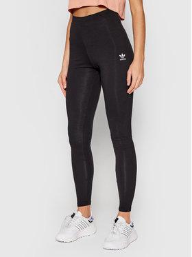 adidas adidas Legíny Lougewear adicolor Essentials H06625 Čierna Skinny Fit