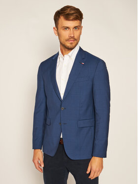 Tommy Hilfiger Tailored Tommy Hilfiger Tailored Sacou Fks Separate Blazer TT0TT07510 Bleumarin Slim Fit