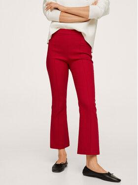 Mango Mango Spodnie materiałowe Kick 17075959 Czerwony Regular Fit