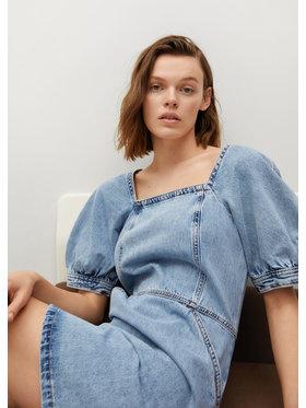 Mango Mango Sukienka jeansowa Vitoria 87077146 Niebieski Regular Fit