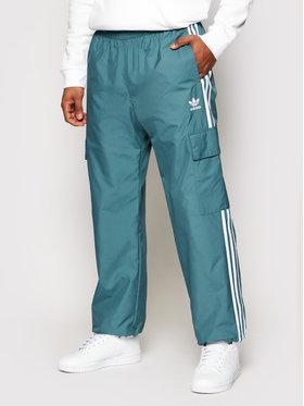 adidas adidas Pantaloni da tuta adicolor Classics 3-Stripes GN3450 Verde Regular Fit