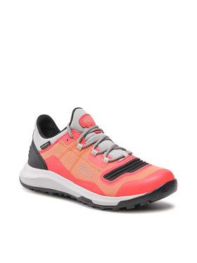 Keen Keen Παπούτσια πεζοπορίας Tempo Flex Wp 1024851 Πορτοκαλί