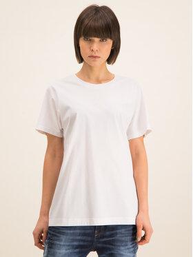 Diesel Diesel T-Shirt Kyr 00S75A 0QANW Biały Regular Fit