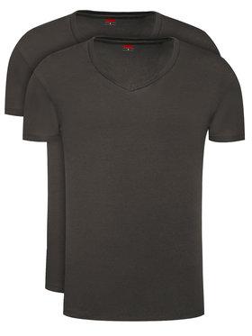 Levi's® Levi's 2 marškinėlių komplektas 905056001 Juoda Regular Fit