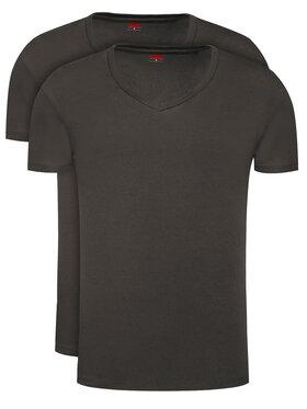 Levi's® Levi's® 2-dielna súprava tričiek 905056001 Čierna Regular Fit
