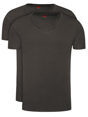 Levi's® Levi's® 2-dílná sada T-shirts 905056001 Černá Regular Fit