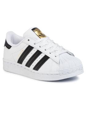 adidas adidas Chaussures Superstar C FU7714 Blanc