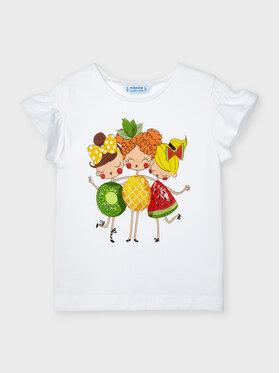 Mayoral Mayoral T-shirt 3019 Blanc Regular Fit