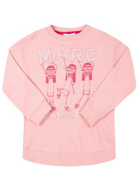 Little Marc Jacobs Little Marc Jacobs Суитшърт W15482 S Розов Regular Fit