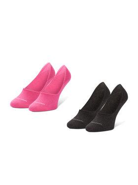 Calvin Klein Calvin Klein Σετ 2 ζευγάρια κάλτσες σοσόνια γυναικεία 100001902 Μαύρο