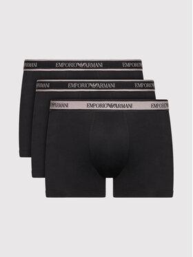 Emporio Armani Underwear Emporio Armani Underwear Комплект 3 чифта боксерки 111473 1A717 50620 Черен