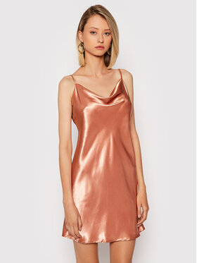 NA-KD NA-KD Koktel haljina 1017-001020-0569-581 Narančasta Regular Fit