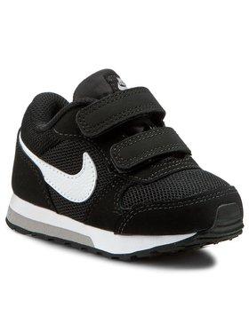 Nike Nike Buty Md Runner 2 (TDV) 806255 001 Czarny