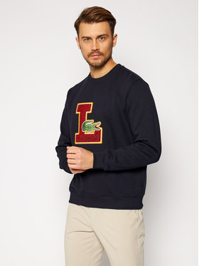 Lacoste Lacoste Džemperis SH2208 Tamsiai mėlyna Regular Fit