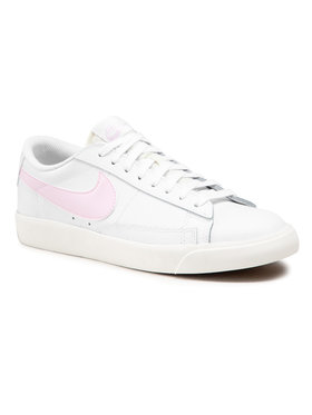 Nike Nike Обувки Blazer Low Leather CI6377 106 Бял