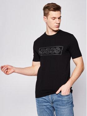 Boss Boss T-Shirt Tee Logo 50425697 Černá Regular Fit