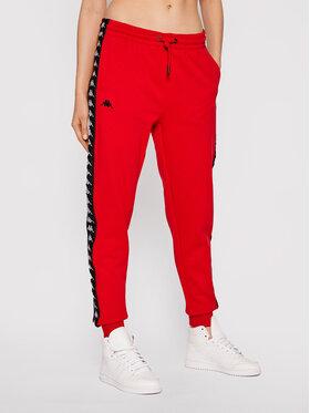 Kappa Kappa Teplákové nohavice Jante 310027 Červená Slim Fit