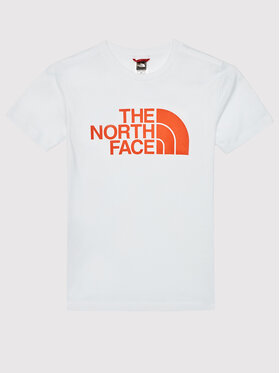 The North Face The North Face Marškinėliai Easy NF00A3P725R1 Balta Regular Fit