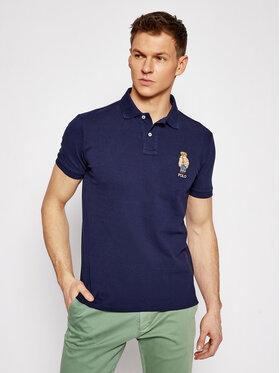 Polo Ralph Lauren Polo Ralph Lauren Polokošile Ssl 710829164005 Tmavomodrá Custom Slim Fit