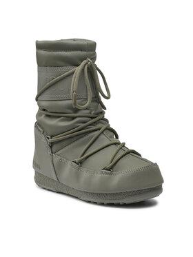 Moon Boot Moon Boot Μπότες Χιονιού Mid Rubber Wp 24010300002 Χρυσό