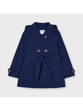 Mayoral Mayoral Cappotto di transizione 3487 Blu scuro Regular Fit