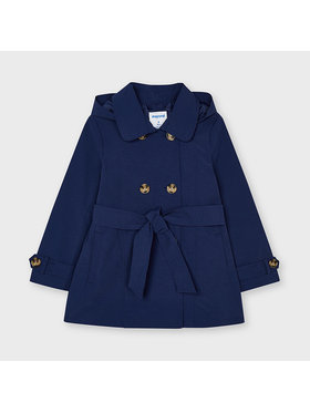 Mayoral Mayoral Manteau de mi-saison 3487 Bleu marine Regular Fit