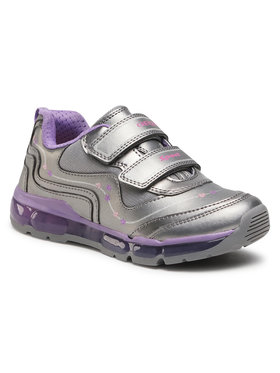 Geox Geox Sneakersy J Android G. B J0445B 000NF C1400 D Strieborná